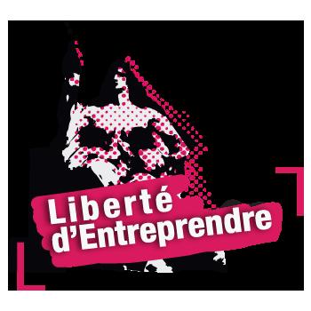 Logo de la liberté d'entreprendre - Collectif en faveur l'inscription de la liberté d'entreprendre dans le préambule de la constitution et